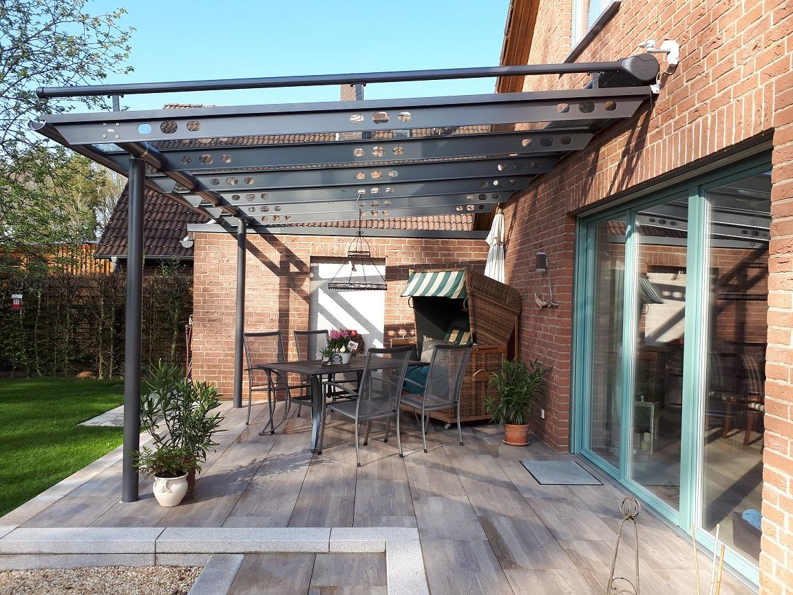 Üvegtető teraszfedéshez- Solarlux Anova