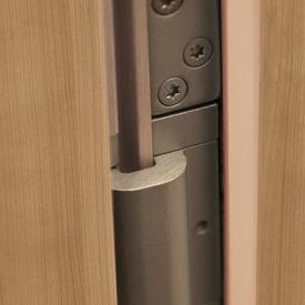 Rejtett pántolás falcolt beltéri ajtóknál